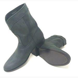 Frye Cara Roper Short Suede Nubuck Leather Boots